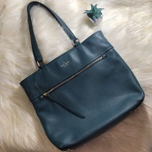 Emerald Green Kate Spade Cobble Hill Taylor Bag